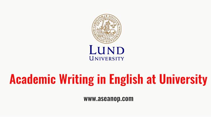 """[Online] Khoa Học Tiếng Anh Online Miễn Phí """"Writing in English"""" Do Trường Đại Học Lund Phối Hợp Cùng Coursera Tổ Chức"""