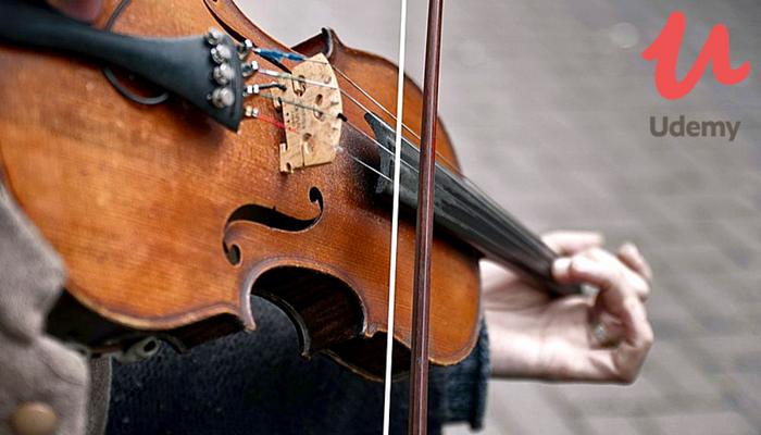 [Online] Khoá Học Miễn Phí Về Violin Dành Cho Người Mới Bắt Đầu Từ Udemy 2018
