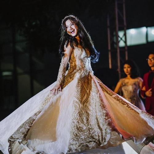 Minh Anh xinh đẹp tham gia