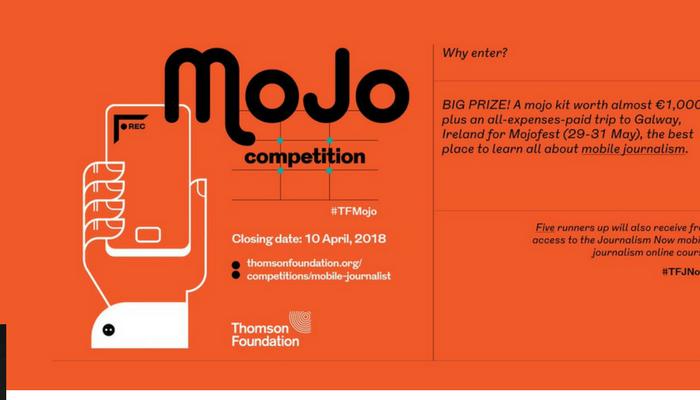 [Toàn Cầu] Cơ Hội Nhận 1 Bộ Mojo Kit Trị Giá €1,000 Và Giành Chuyến Đi Toàn Phần Đến Ireland Từ Cuộc Thi Mobile Journalism 2018