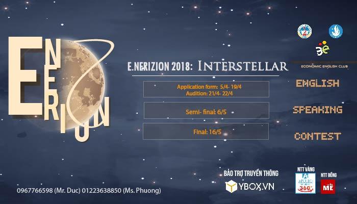 [HN] Cuộc Thi Hùng Biện Tiếng Anh E.nerizon Speaking Contest 2018
