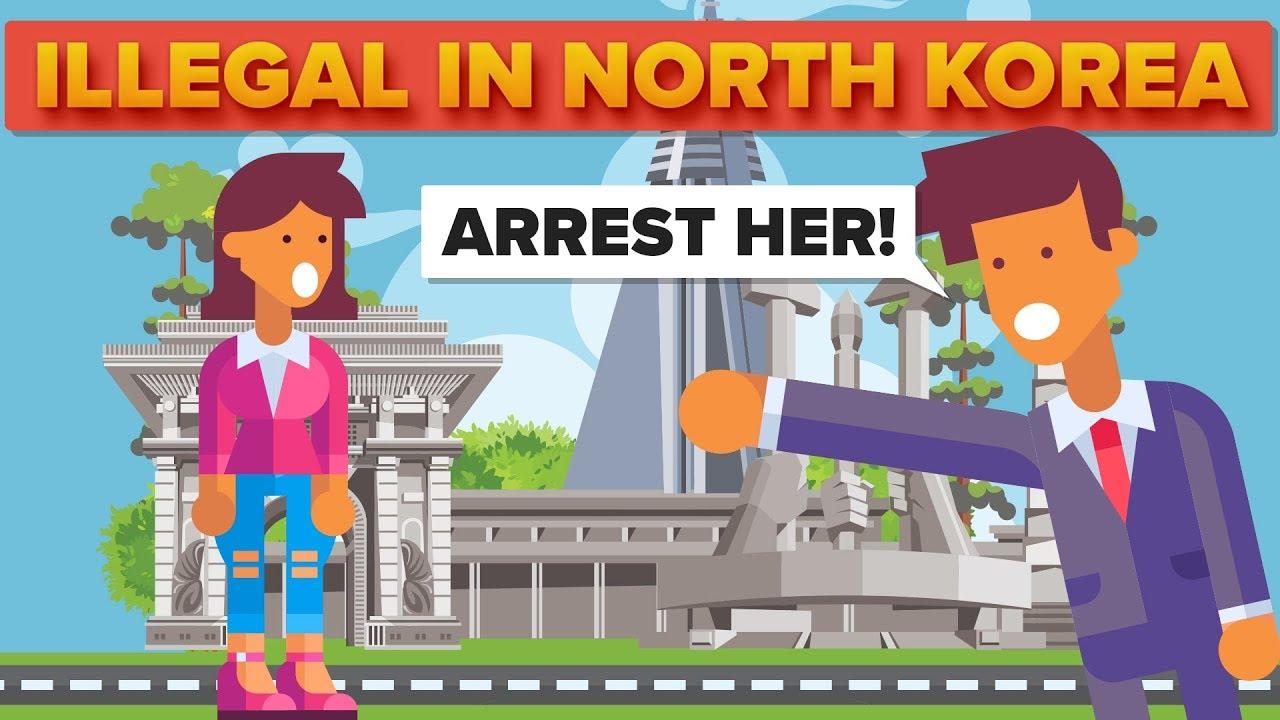 [The Infographics Show] Những Điều Bình Thường Nhưng Lại Bị Coi Là Bất Hợp Pháp Ở Triều Tiên