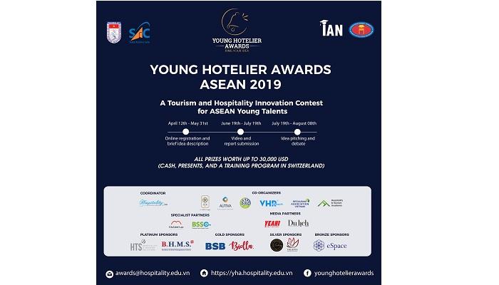 [Asean] Cuộc Thi Tìm Kiếm Tài Năng Về Lãnh Đạo Trẻ Young Hotelier Awards ASEAN 2019 - Cơ Hội Giành Chuyến Đi Đến Thụy Sĩ