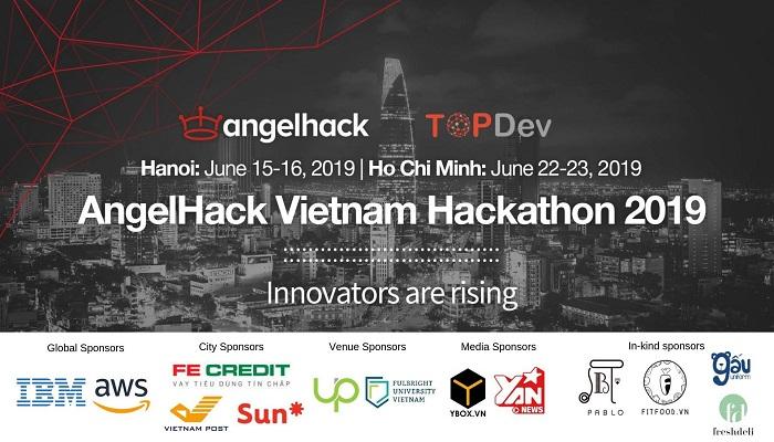 HN/HCM] Cuộc Thi Hackathon AngelHack 2019 Do AngelHack Đồng Hành Tổ
