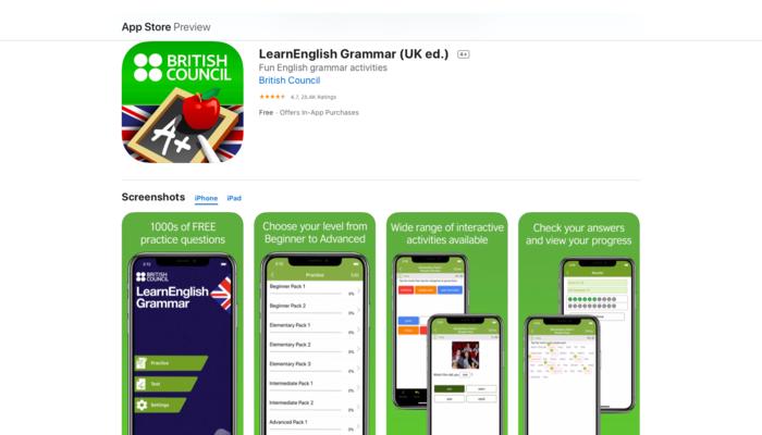 ứng dụng học tiếng Anh miễn phí